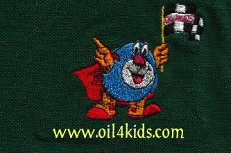 OIL4KIDS GOLF SHIRT